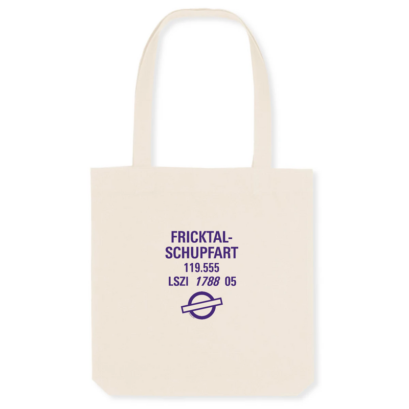 Tote bag coton bio | LSZI FRICKTAL - SCHUPFART - windsock.club