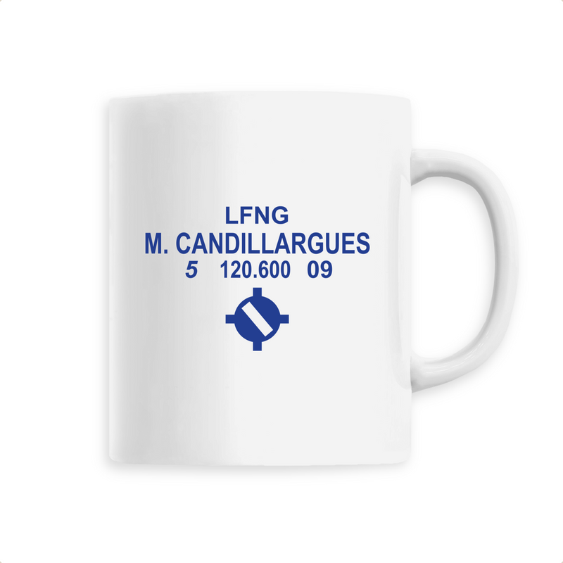 Mug céramique | LFNG M. CANDILLARGUES - windsock.club