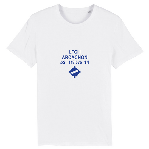 T-shirt homme 100% bio | LFCH ARCACHON - windsock.club