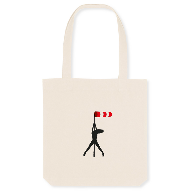 Tote bag coton bio | Windsock pole dance - windsock.club