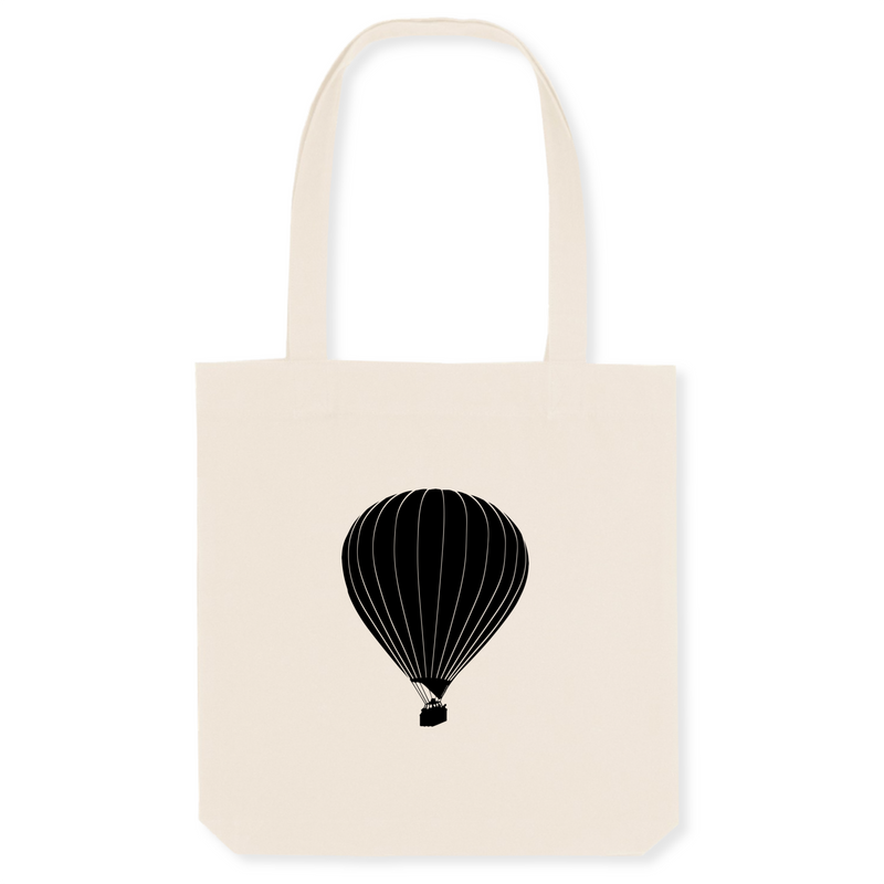Tote bag coton bio | Montgolfière - windsock.club