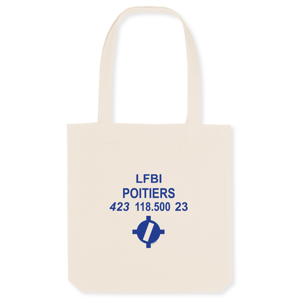 Tote bag coton bio | LFBI POITIERS - windsock.club
