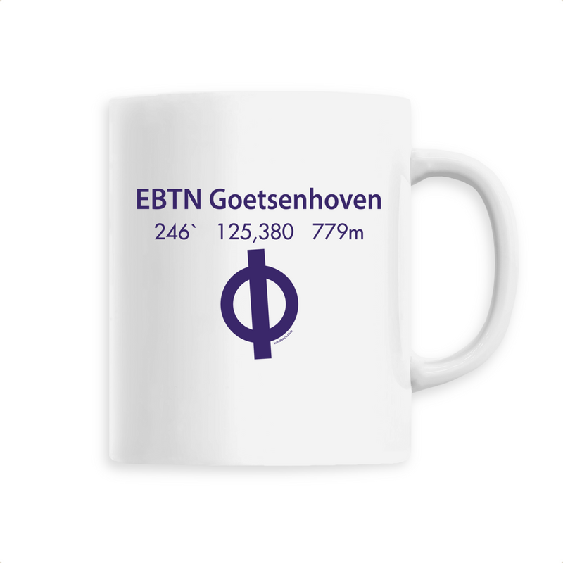 Mug céramique | EBTN Goetsenhoven - windsock.club