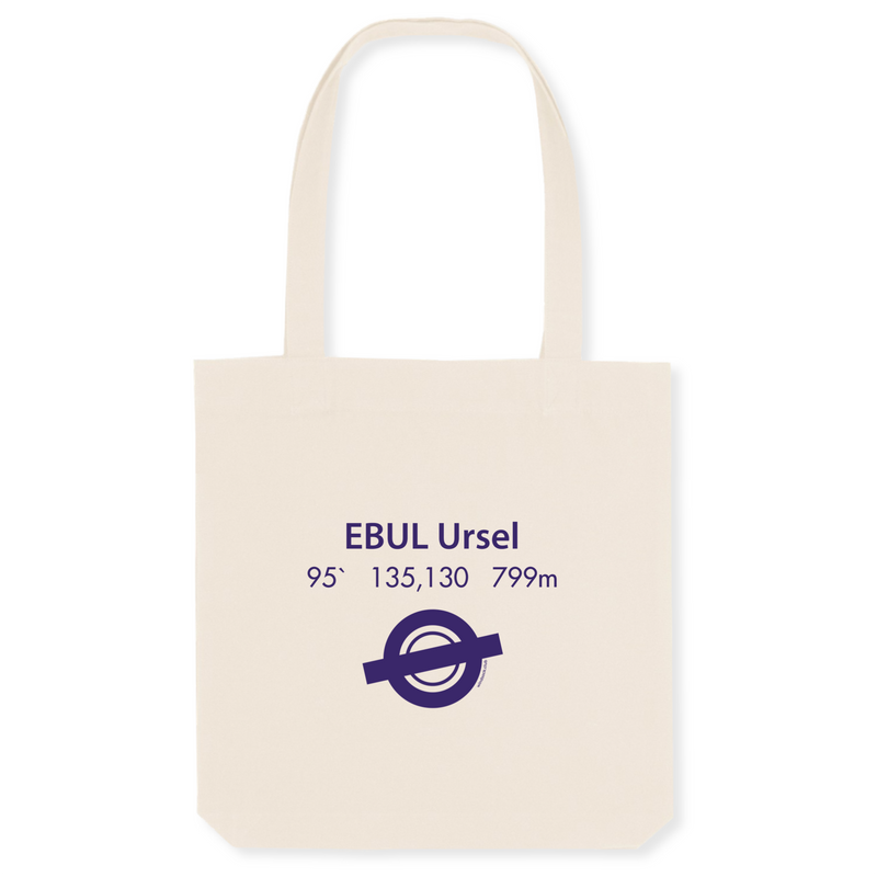 Tote bag coton bio | EBUL Ursel - windsock.club