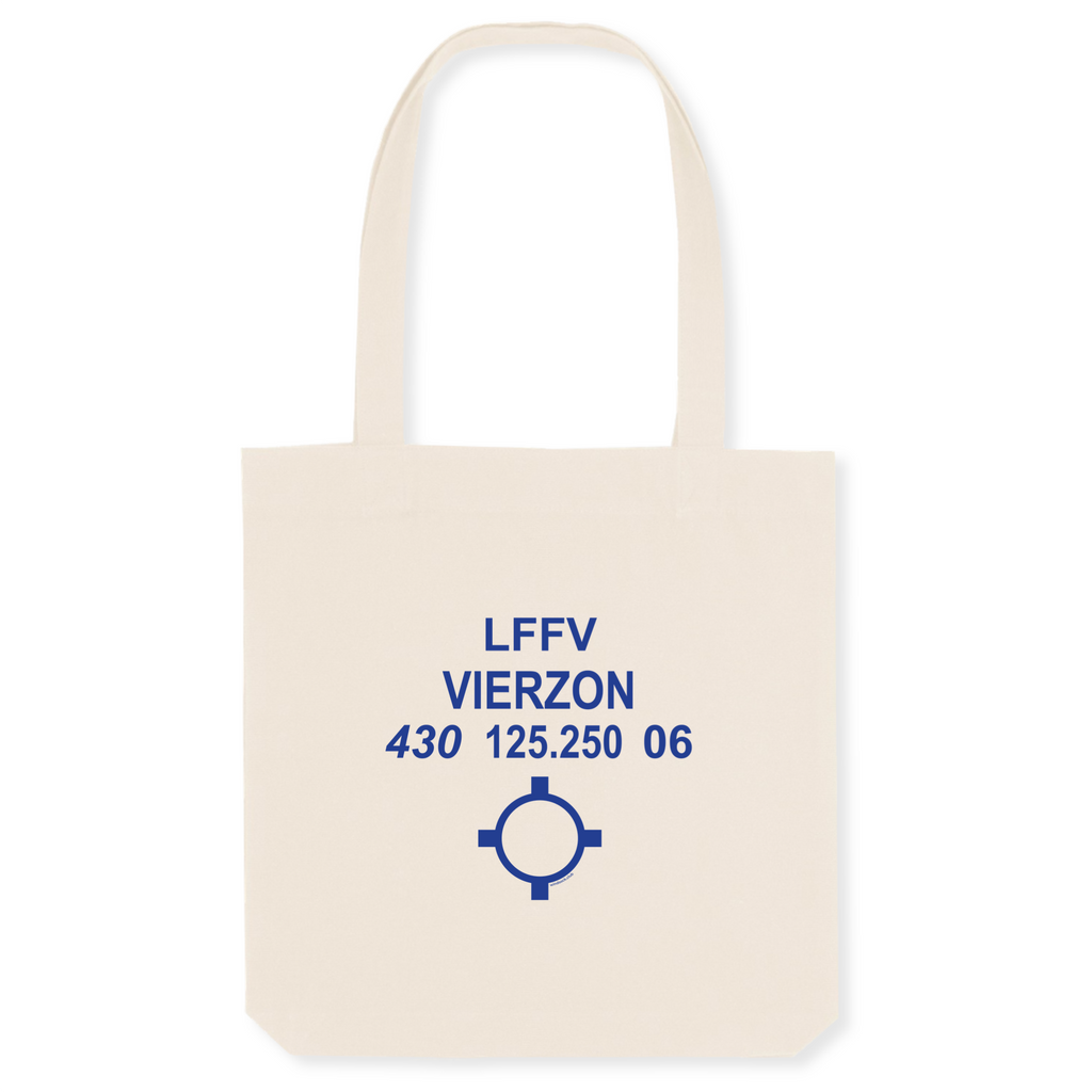 Tote bag coton bio | LFFV Vierzon - windsock.club