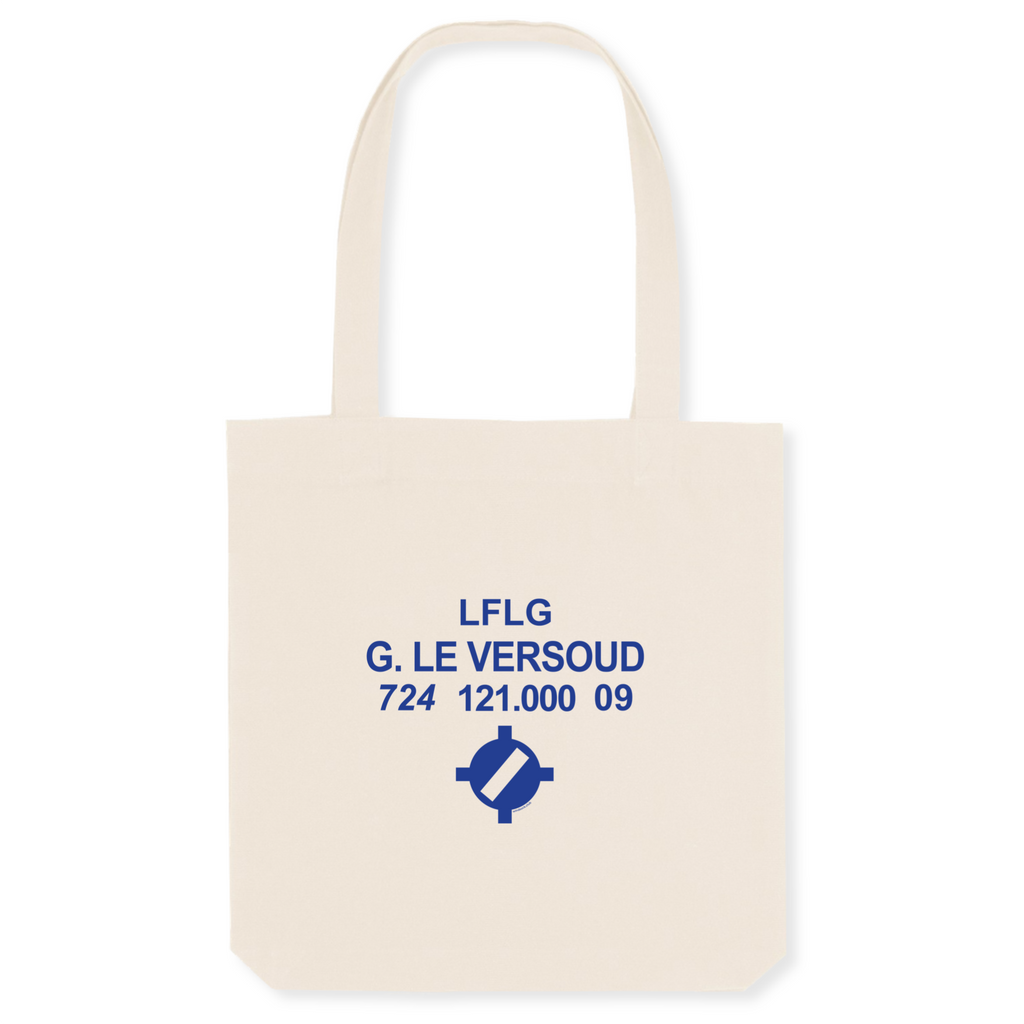 Tote bag coton bio | LFLG G. Le Versoud - windsock.club