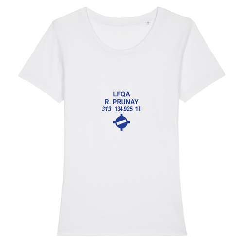 T-shirt femme 100% bio | LFQA R.PRUNAY - windsock.club
