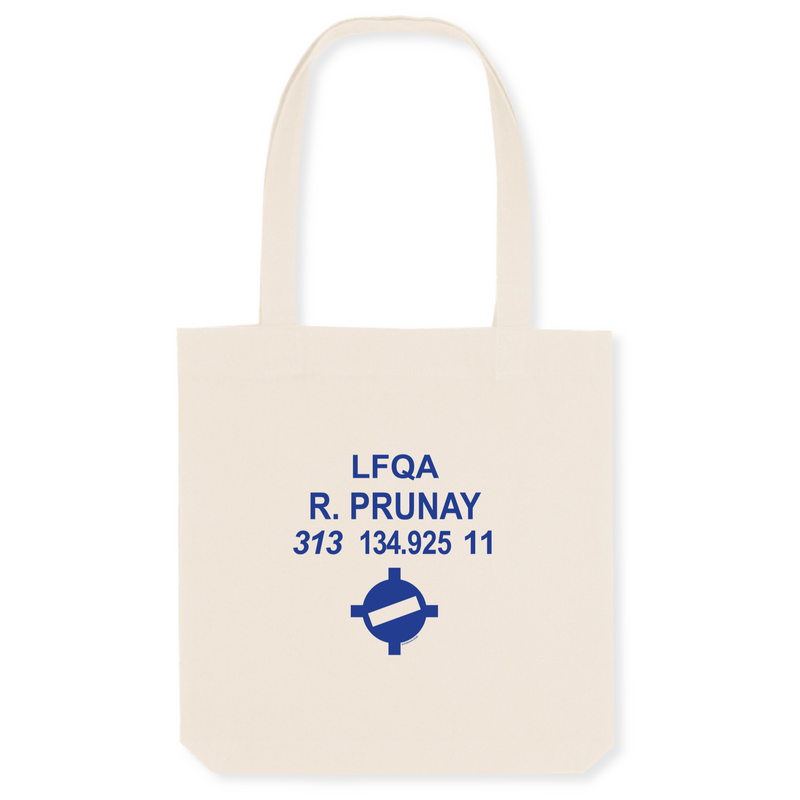 Tote bag coton bio | LFQA R.PRUNAY - windsock.club