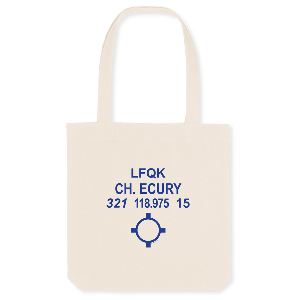 Tote bag coton bio | LFQK CH. ECURY - windsock.club