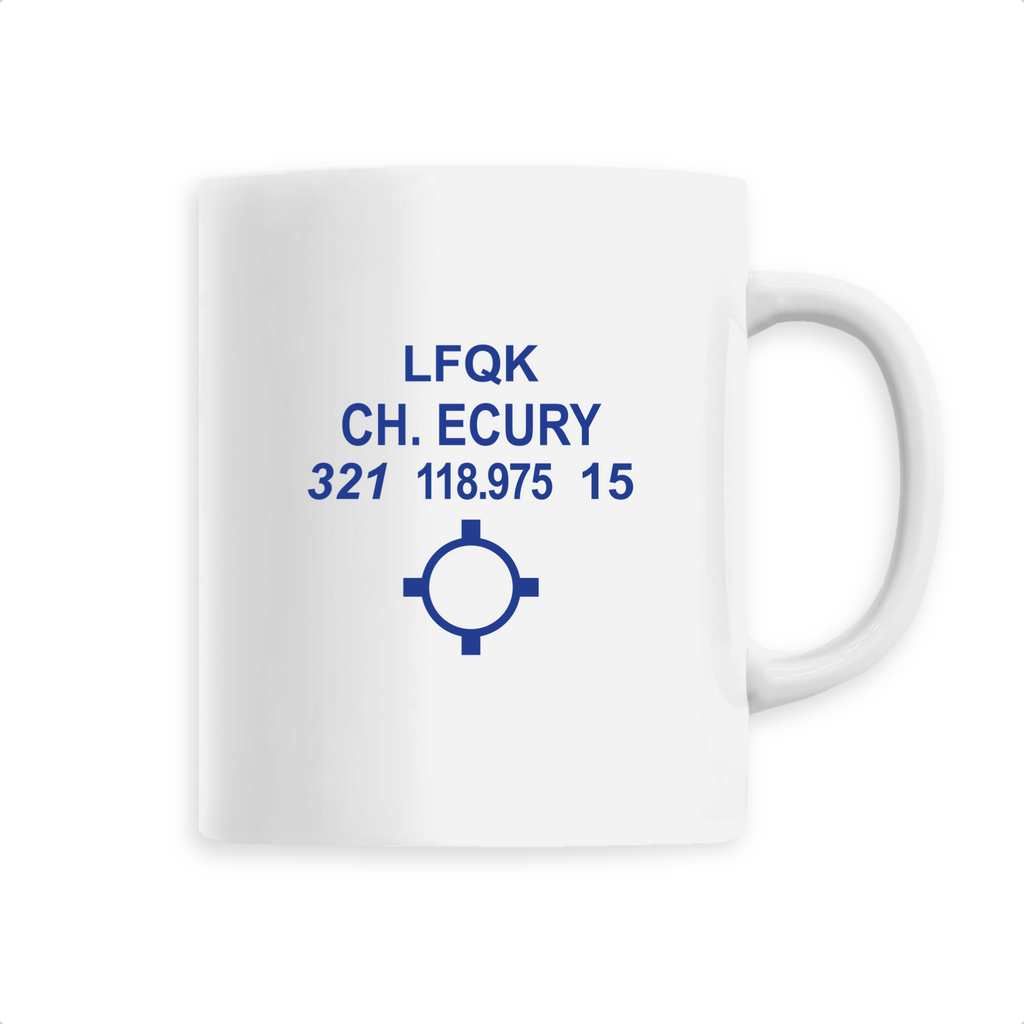 Mug céramique | LFQK CH. ECURY - windsock.club