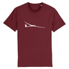 T-shirt homme 100% bio | Planeur - windsock.club