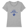 T-shirt femme 100% bio | LFKX MERIBEL - windsock.club