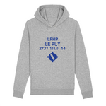 Sweat à capuche bio poches latérales | LFHP LE PUY - windsock.club