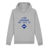 Sweat à capuche bio poches latérales | LFMZ LEZIGNAN - windsock.club
