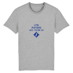 T-shirt homme 100% bio | LFBI POITIERS - windsock.club