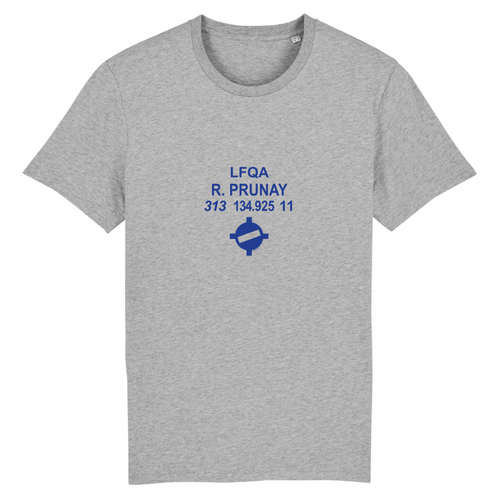 T-shirt homme 100% bio | LFQA R.PRUNAY - windsock.club
