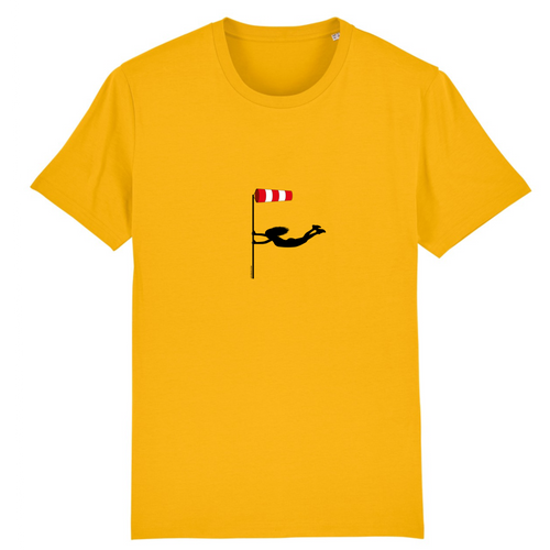 T-shirt homme 100% bio | Windsock windy - windsock.club