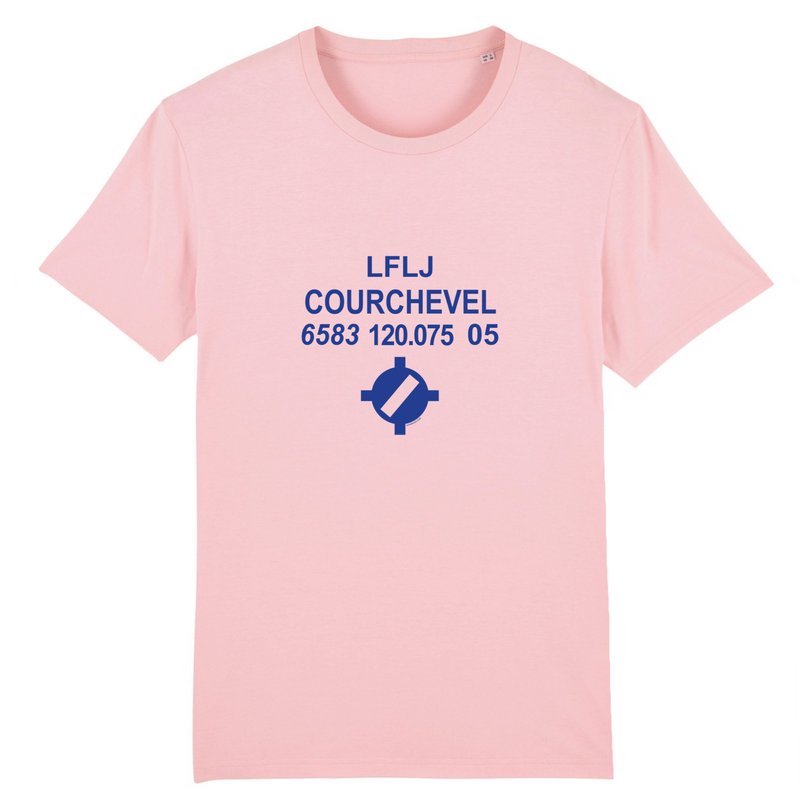 T-shirt homme 100% bio | LFLJ COURCHEVEL - windsock.club