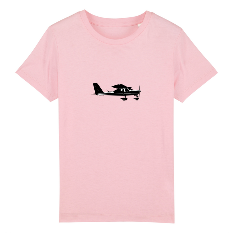 T-shirt enfant 100% bio | Tecnam P92 - windsock.club