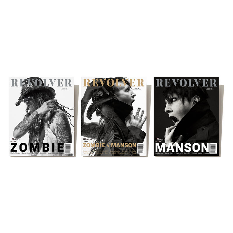 APR/MAY 2019 ATTITUDE ISSUE FEATURING ROB ZOMBIE AND MARILYN MANSON — BUNDLE