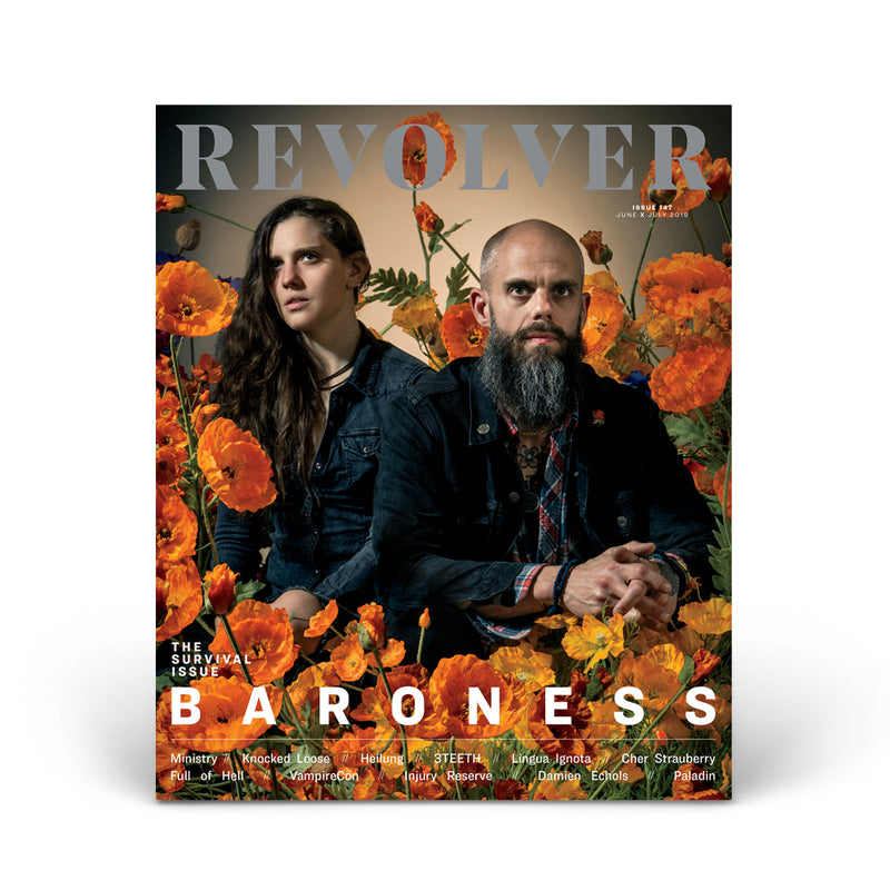 JUNE/JULY 2019 SURVIVAL ISSUE FEATURING BARONESS — COVER 4 OF 5