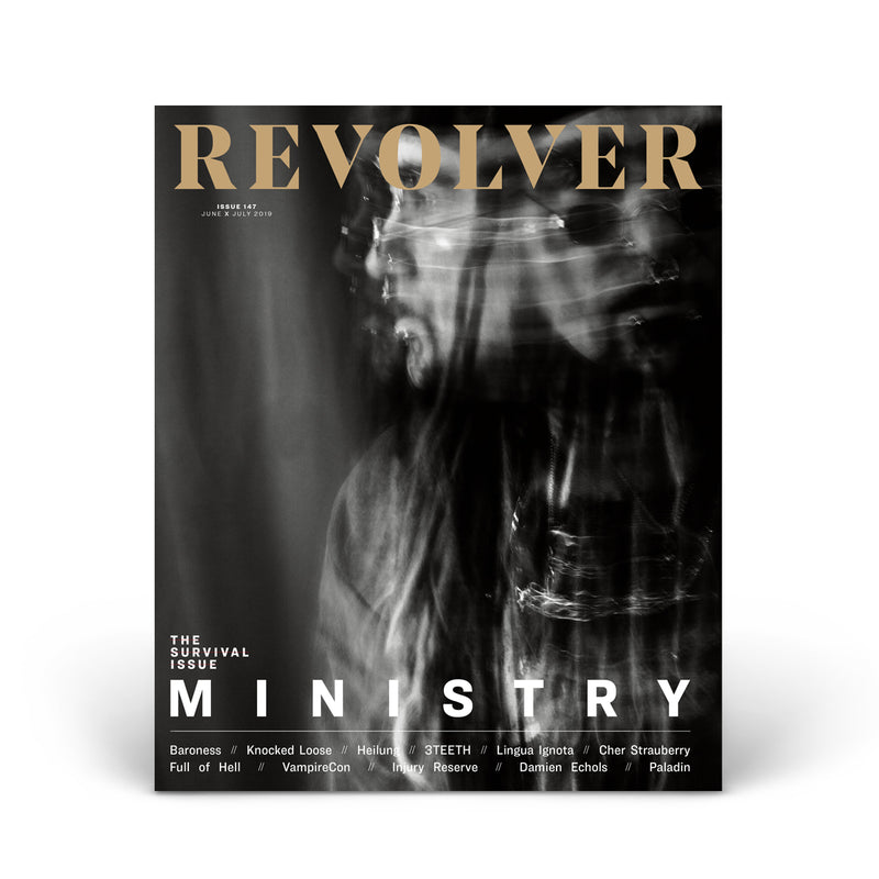 JUNE/JULY 2019 SURVIVAL ISSUE FEATURING MINISTRY — COVER 2 OF 5