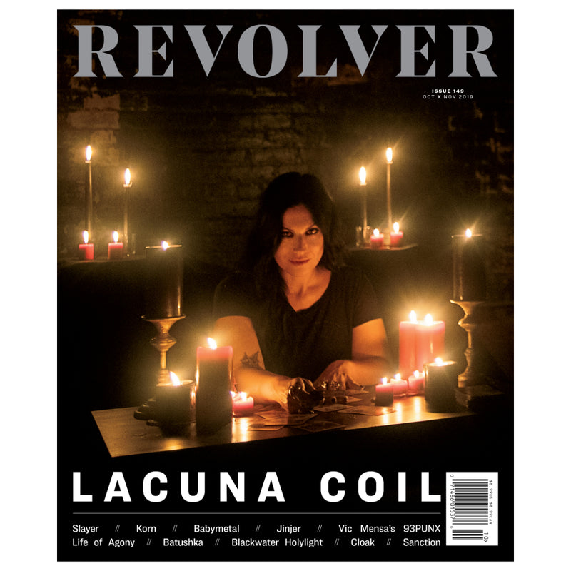 OCT/NOV 2019 ISSUE FEATURING LACUNA COIL