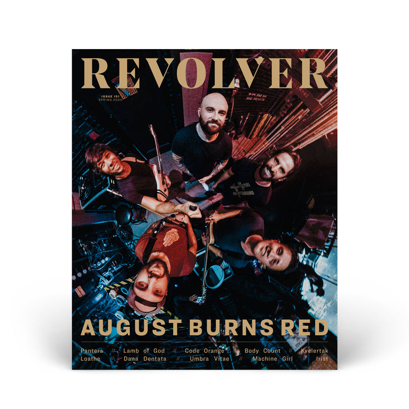 SPRING 2020 ISSUE FEATURING AUGUST BURNS RED