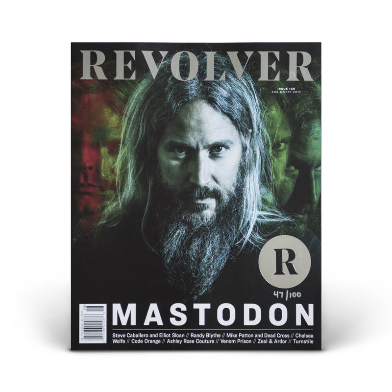 SILVER COLLECTOR'S EDITION RELAUNCH ISSUE - MASTODON - TROY SANDERS COVER