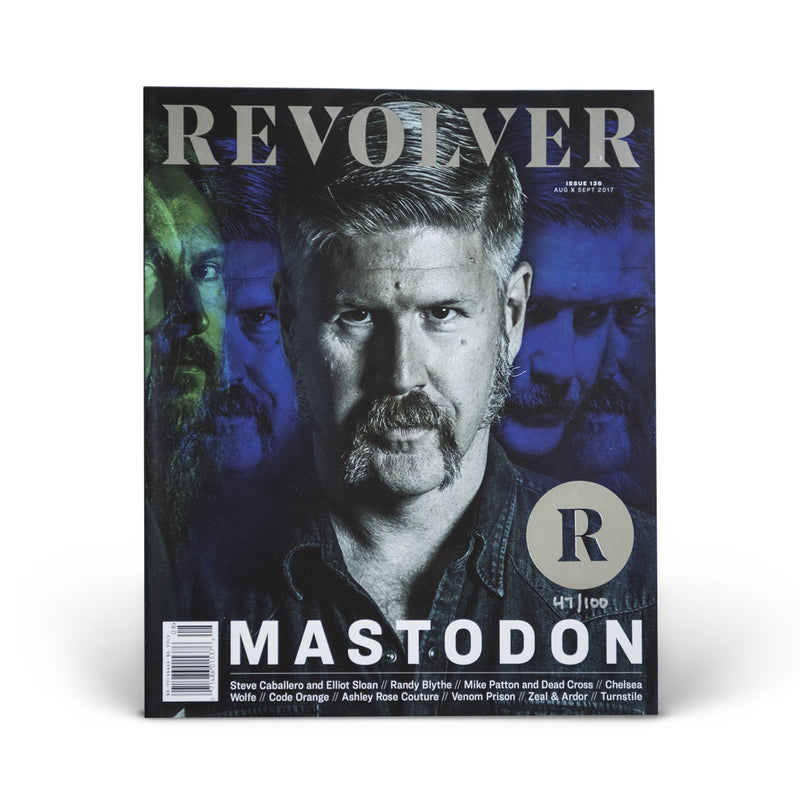 SILVER COLLECTOR'S EDITION RELAUNCH ISSUE - MASTODON - BILL KELLIHER COVER