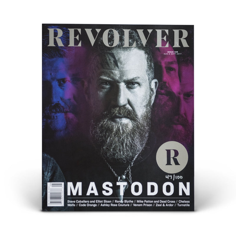 SILVER COLLECTOR'S EDITION RELAUNCH ISSUE - MASTODON - BRENT HINDS COVER
