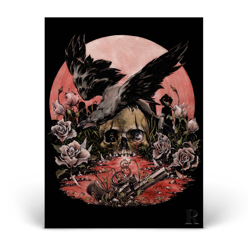 'THE CROW'-INSPIRED ART PRINT — ONLY 250 AVAILABLE!