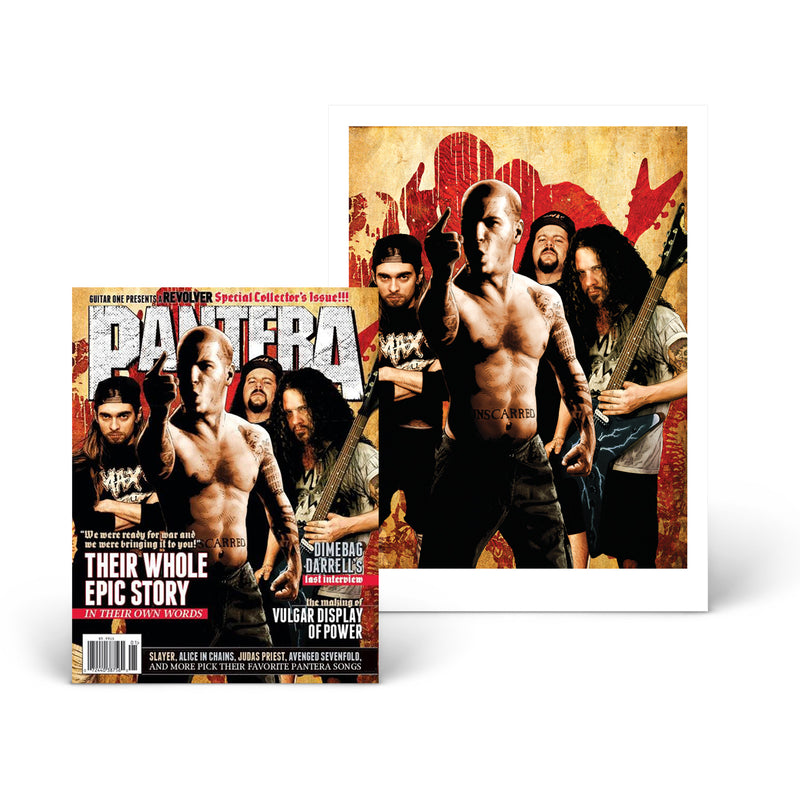 BOOK OF PANTERA COLLECTOR'S BUNDLE - ONLY 500 AVAILABLE!