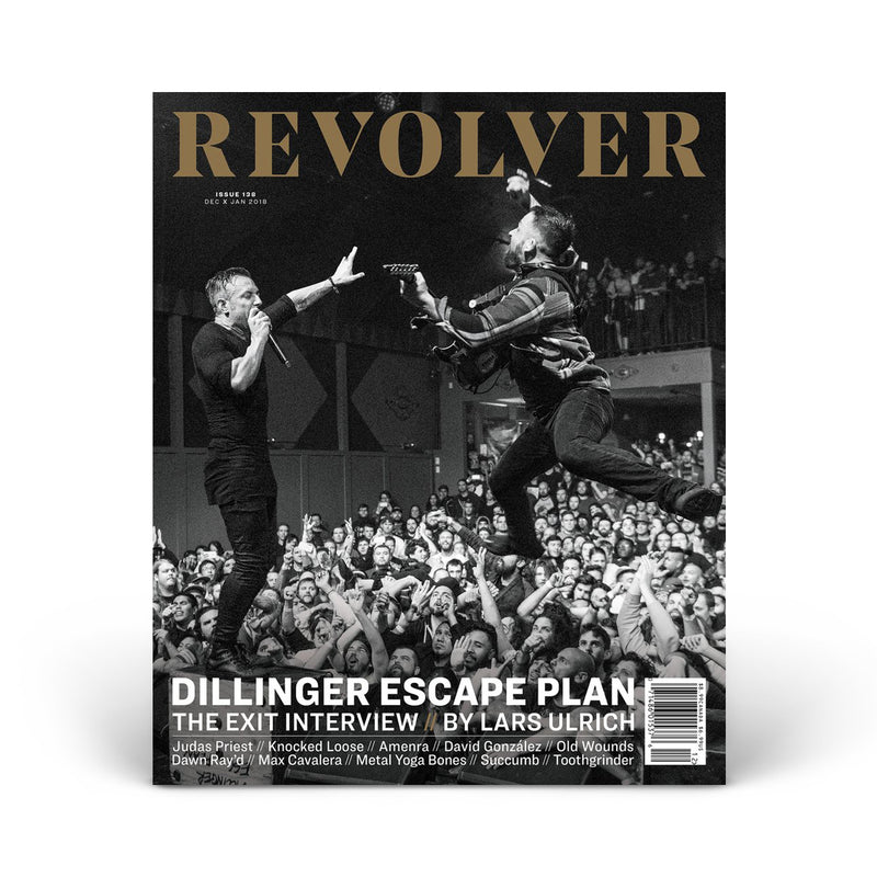SILVER COLLECTOR'S EDITION DEC/JAN 2018 ISSUE — DILLINGER ESCAPE PLAN — ONLY 200 MADE