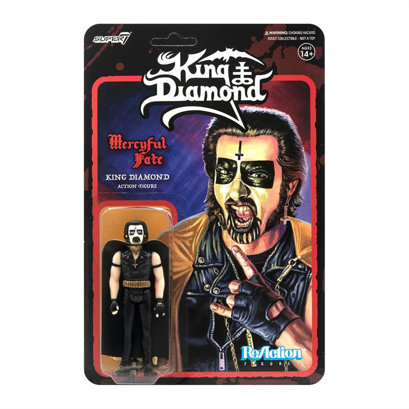 KING DIAMOND REACTION FIGURE - FIRST TOUR