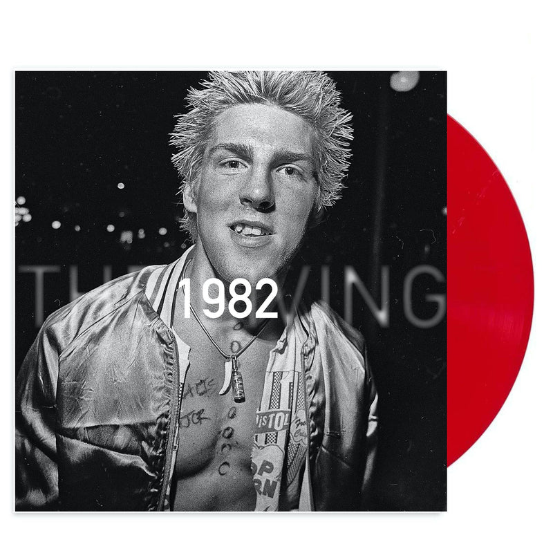 THE LIVING '1982' LIMITED-EDITION TRANSLUCENT RUBY LP — ONLY 500 MADE