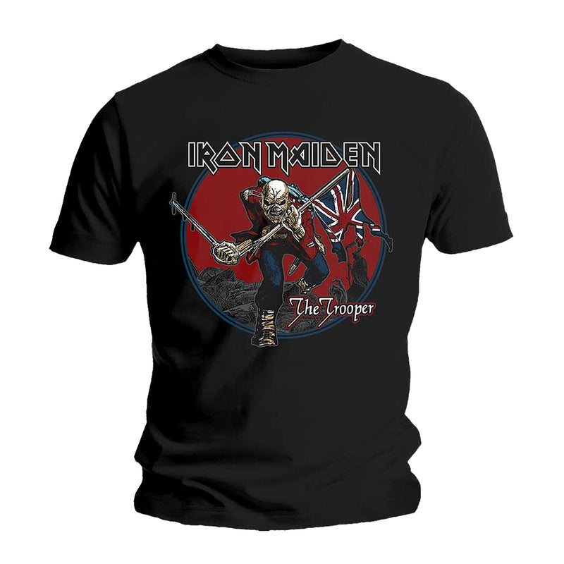 IRON MAIDEN TROOPER RED SKY T-SHIRT