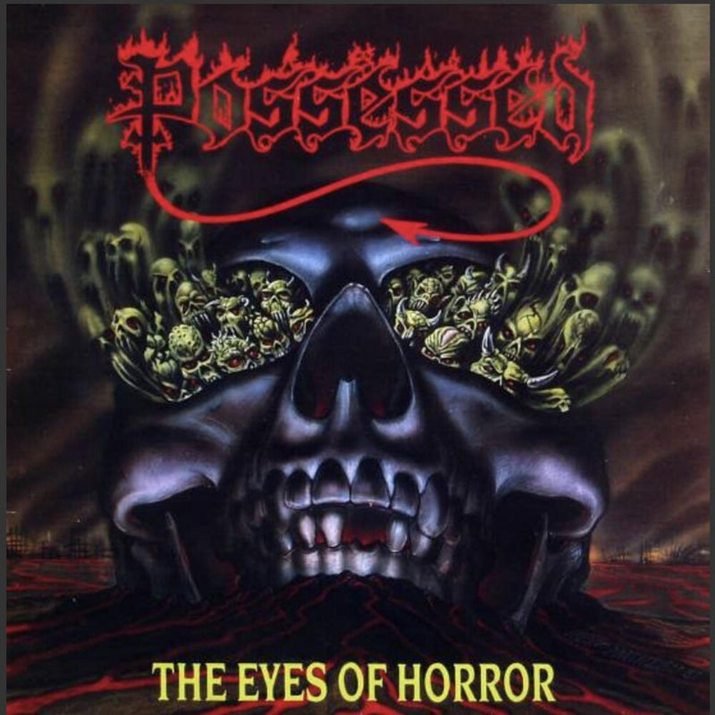 POSSESSED 'EYES OF HORROR' EP
