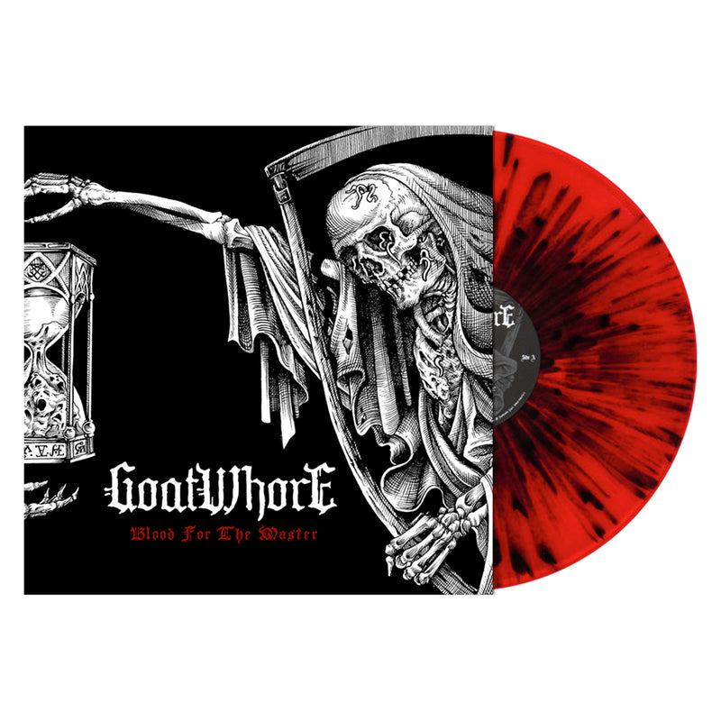 GOATWHORE 'BLOOD FOR THE MASTER'  - RED/BLACK SPLATTER LP