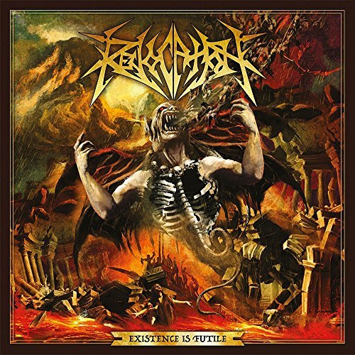 REVOCATION 'EXISTENCE IS FUTILE' AMBER MARBLE LP