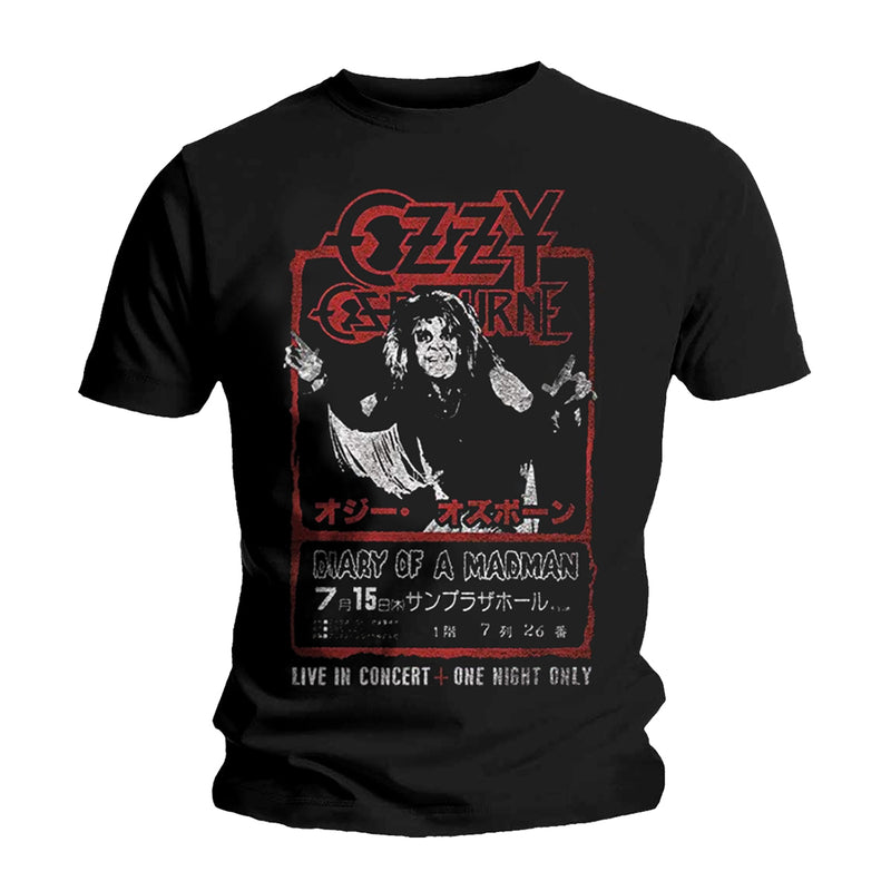 OZZY OSBOURNE JAPAN FLYER T-SHIRT