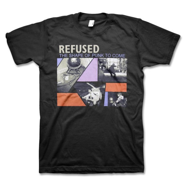 REFUSED THE SHAPE OF PUNK TO COME T-SHIRT