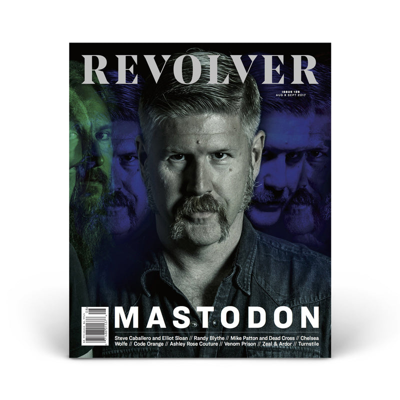 LIMITED EDITION RELAUNCH ISSUE - MASTODON - BILL KELLIHER COVER