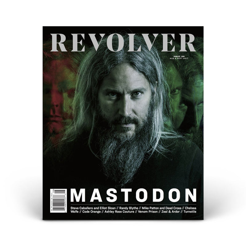 LIMITED EDITION RELAUNCH ISSUE - MASTODON - TROY SANDERS COVER
