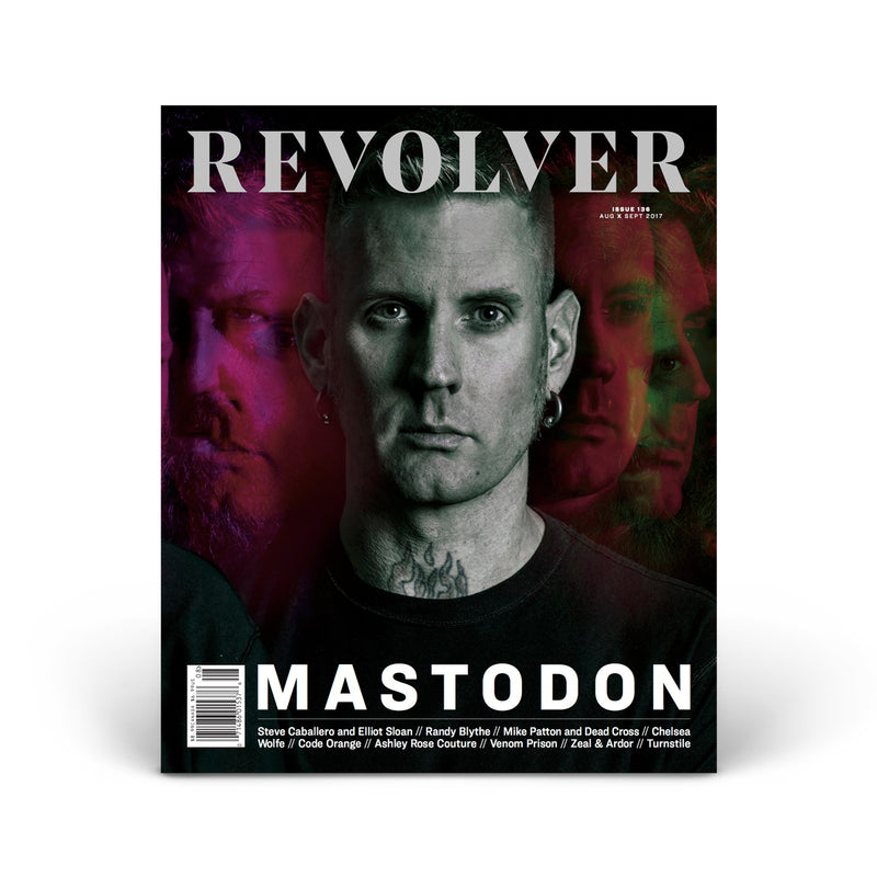 LIMITED EDITION RELAUNCH ISSUE - MASTODON - BRANN DAILOR COVER