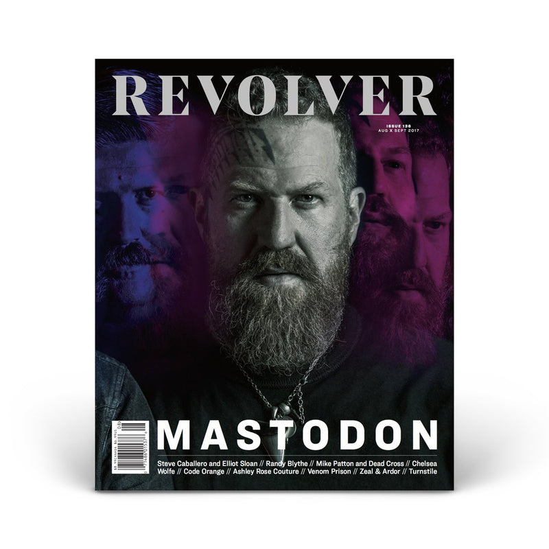 LIMITED EDITION RELAUNCH ISSUE - MASTODON - BRENT HINDS COVER