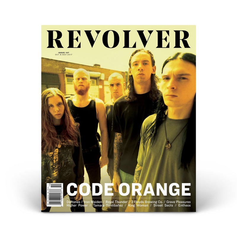 OCT/NOV 2017 ISSUE FEATURING CODE ORANGE