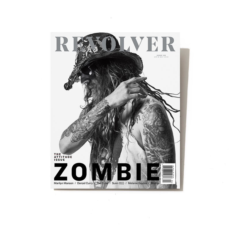APR/MAY 2019 ATTITUDE ISSUE FEATURING ROB ZOMBIE — COVER 2 OF 3