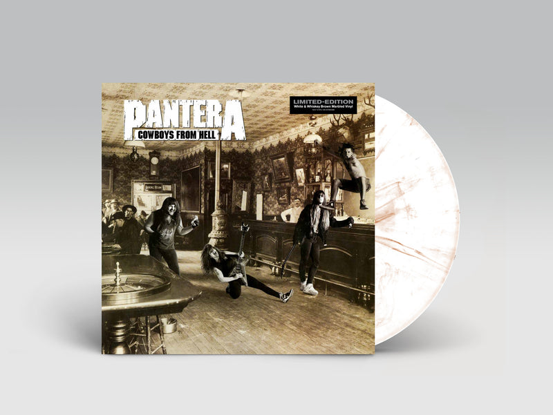 PANTERA 'COWBOYS FROM HELL' – LP + BOOK OF PANTERA SPECIAL COLLECTOR'S EDITION BUNDLE