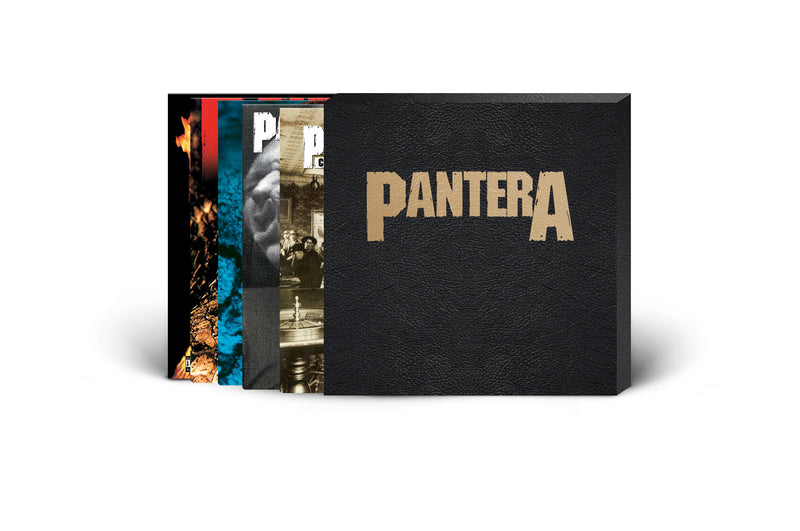 PANTERA – 5 LP AND SLIPCASE COLLECTOR'S BUNDLE